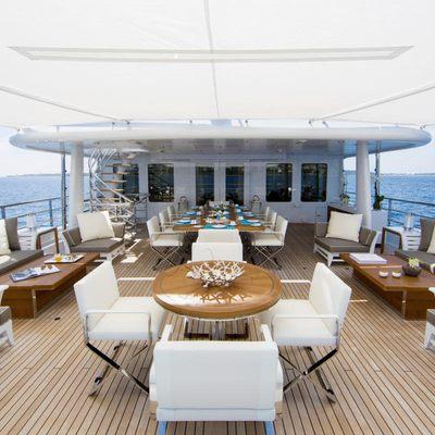 Revelry Yacht Upper Deck