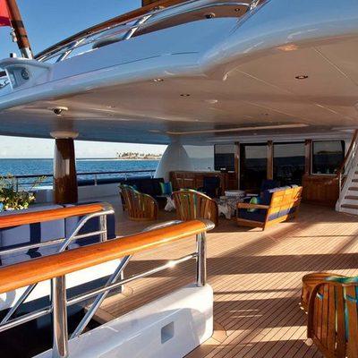 Aquila Yacht Aft Deck