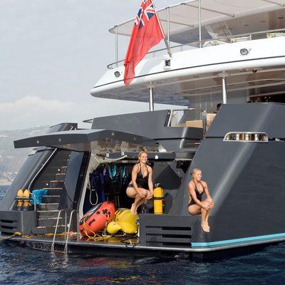 Cyan Yacht Swimming Platform