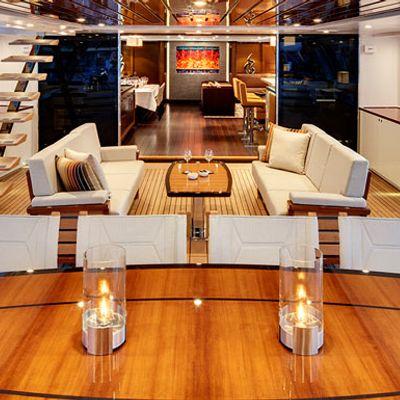 Kokomo Yacht Cockpit - Seating