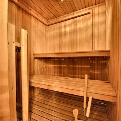 Number Nine Yacht Sauna