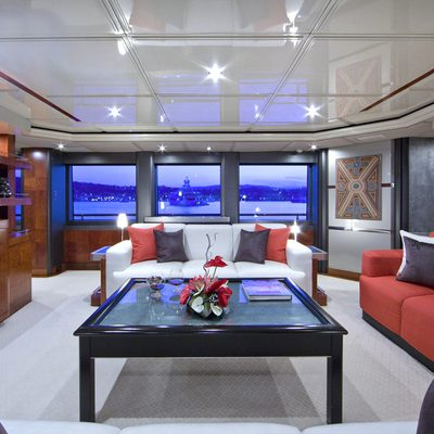 Silver Dream Yacht Main Salon