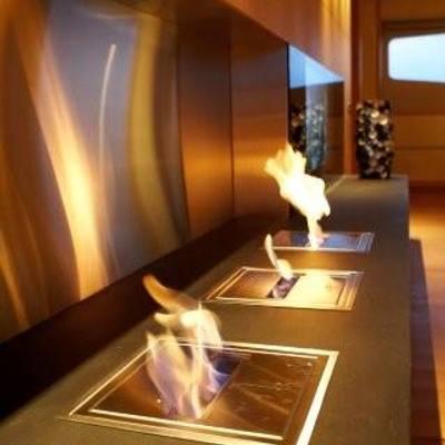 N.M.N Yacht Fireplace