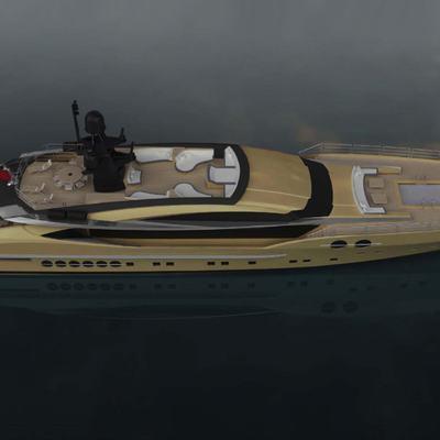 DB9 Yacht Aerial View