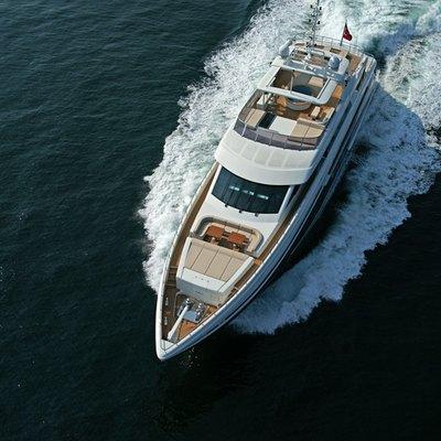 Tatiana I Yacht Aerial