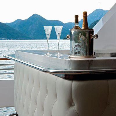 Carpe Diem Yacht Detail - Wine