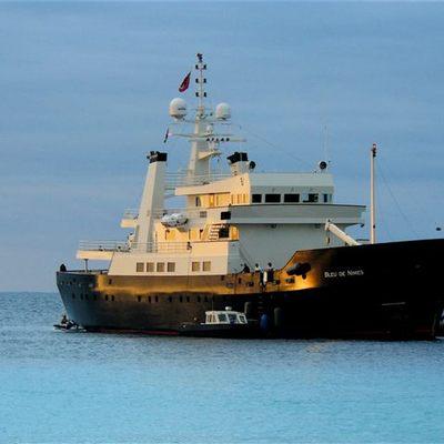 Bleu De Nimes Yacht At Anchor