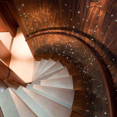 Blind Date Yacht Stairwell
