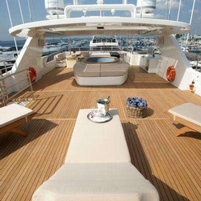 Tatiana Yacht Sun Loungers & Jacuzzi