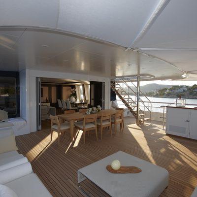 Megan Yacht Aft Deck