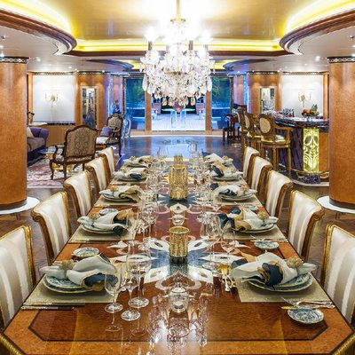 Solandge Yacht Formal Dining Room