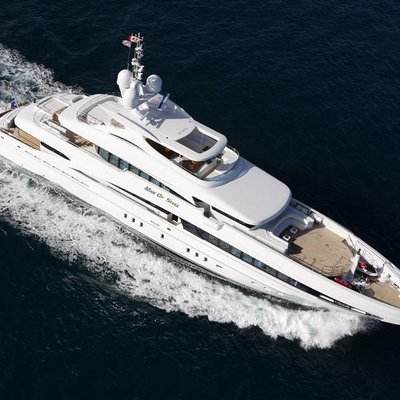Inception Yacht Aerial