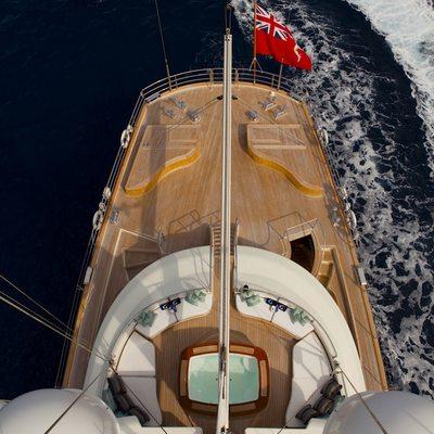 Luna Yacht Overhead - Rear