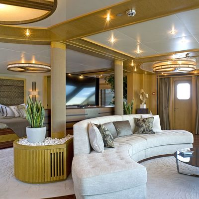 Neom Yacht Master Cabin Area