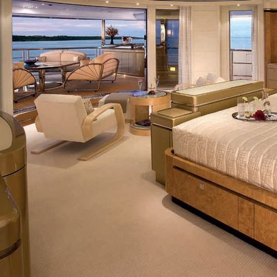 Sycara V Yacht Master Stateroom - View Outside