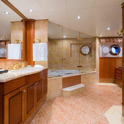 Force Blue Yacht VIP Bathroom