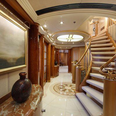 Capri I Yacht Stairway