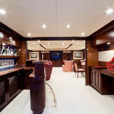 Sophie Blue Yacht Main Salon - Bar