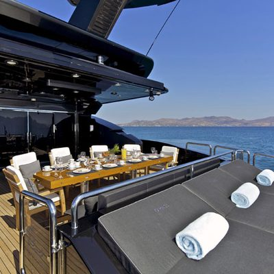 O'Pati Yacht Aft Deck