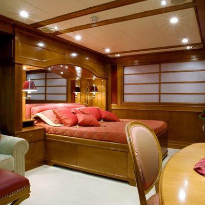 Lou Spirit Yacht Stateroom