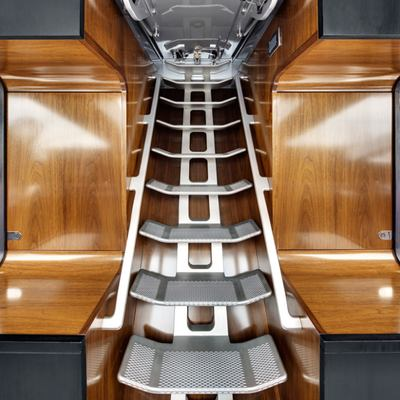 Vertigo Yacht Helm Stairs