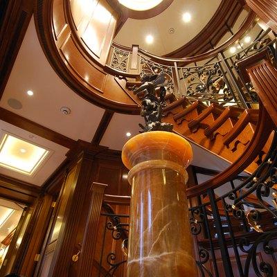 Lady Kathryn V Yacht Stairway