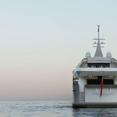 Namaste 8 Yacht Rear View