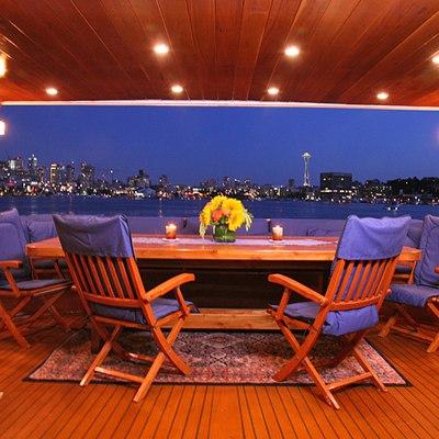 Kayana Aft Deck Dining
