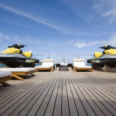 Odessa Yacht Tenders on Deck