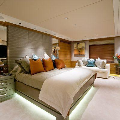 Va Bene Yacht Master Stateroom