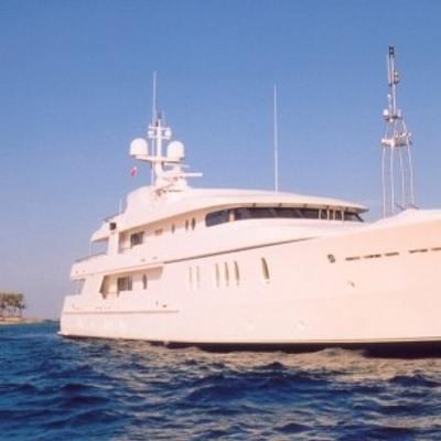 Mercury Yacht At Anchor