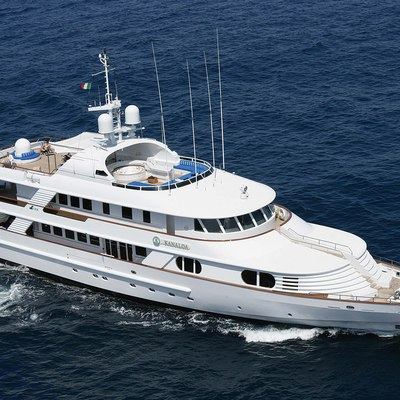 Lady Ellen II Yacht Running Shot - Front View