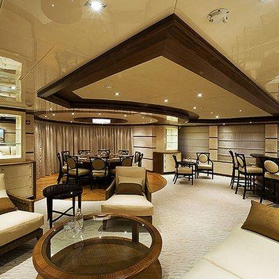 Princess Iolanthe Yacht Salon & Dining