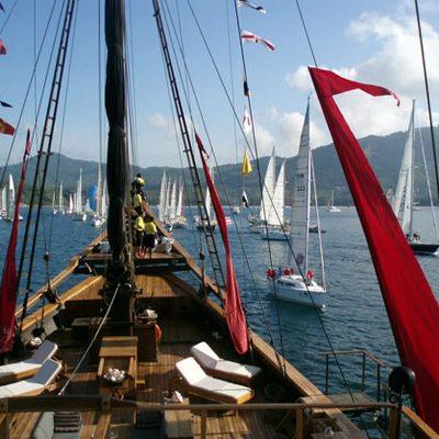 Silolona Yacht Deck View