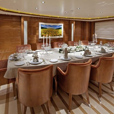 Mia Rama Yacht Formal Dining