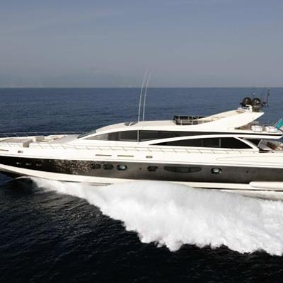 Antelope III Yacht Running Shot - Main Profile