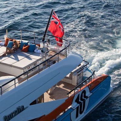 Aurelia Yacht Aerial Sundeck