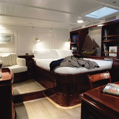 Windrose of Amsterdam Yacht Master Stateroom - View