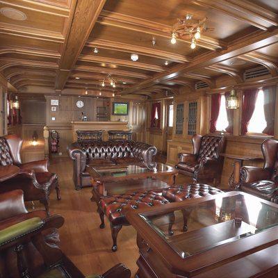 SS Delphine Yacht Main Salon
