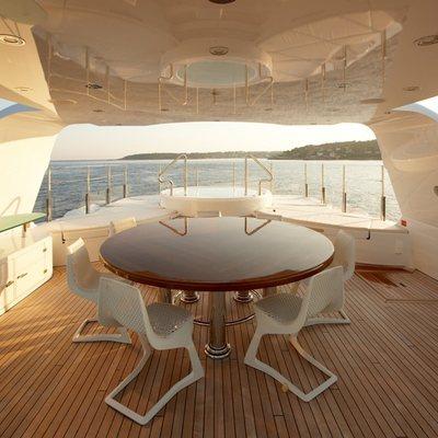 Northlander Yacht Exterior Dining
