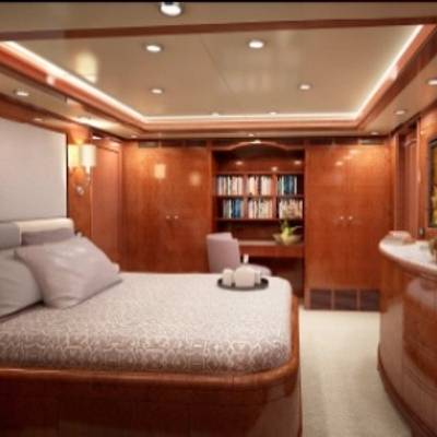 Checkmate Yacht Artist's Impression - Guest Stateroom