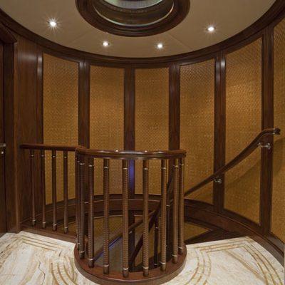 Wheels Yacht Stairwell