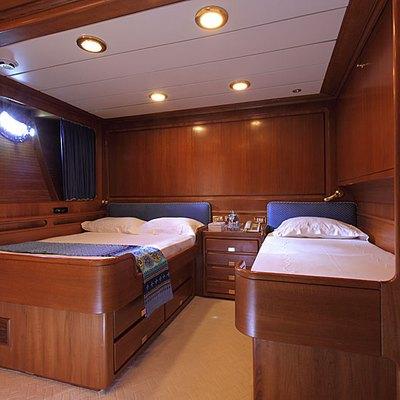 Principessa Vaivia Yacht Twin Stateroom