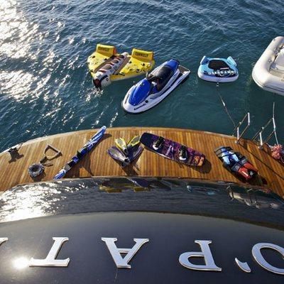 O'Pati Yacht Swim Platform - Overhead