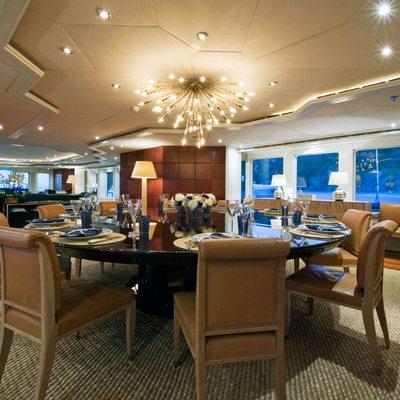 Diamond Yacht Formal Dining