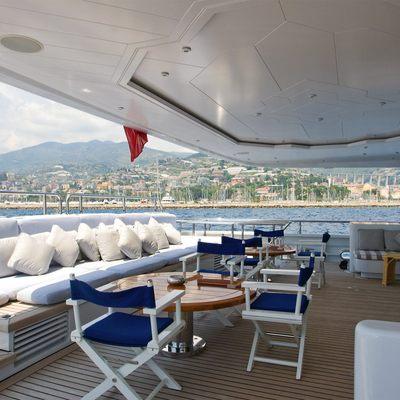 Diamond Yacht Aft Deck - Seating