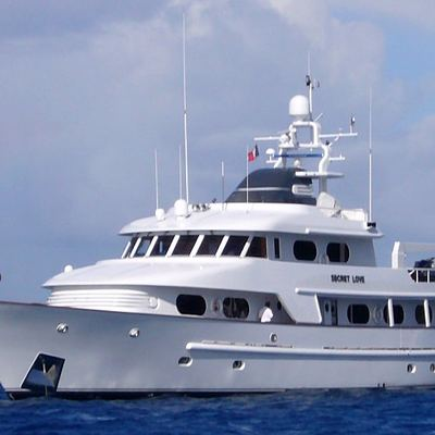 Secret Love Yacht Side View