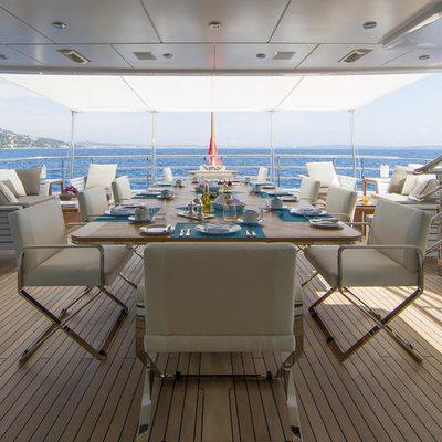 Revelry Yacht Upper Deck Aft