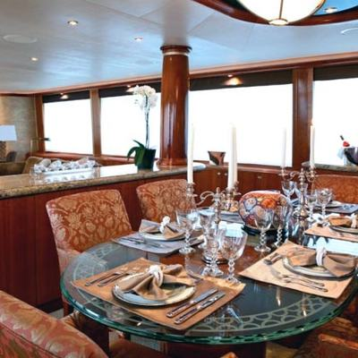 Endless Summer Yacht Dining Salon