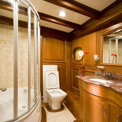 Take It Easier Yacht Master Bathroom
